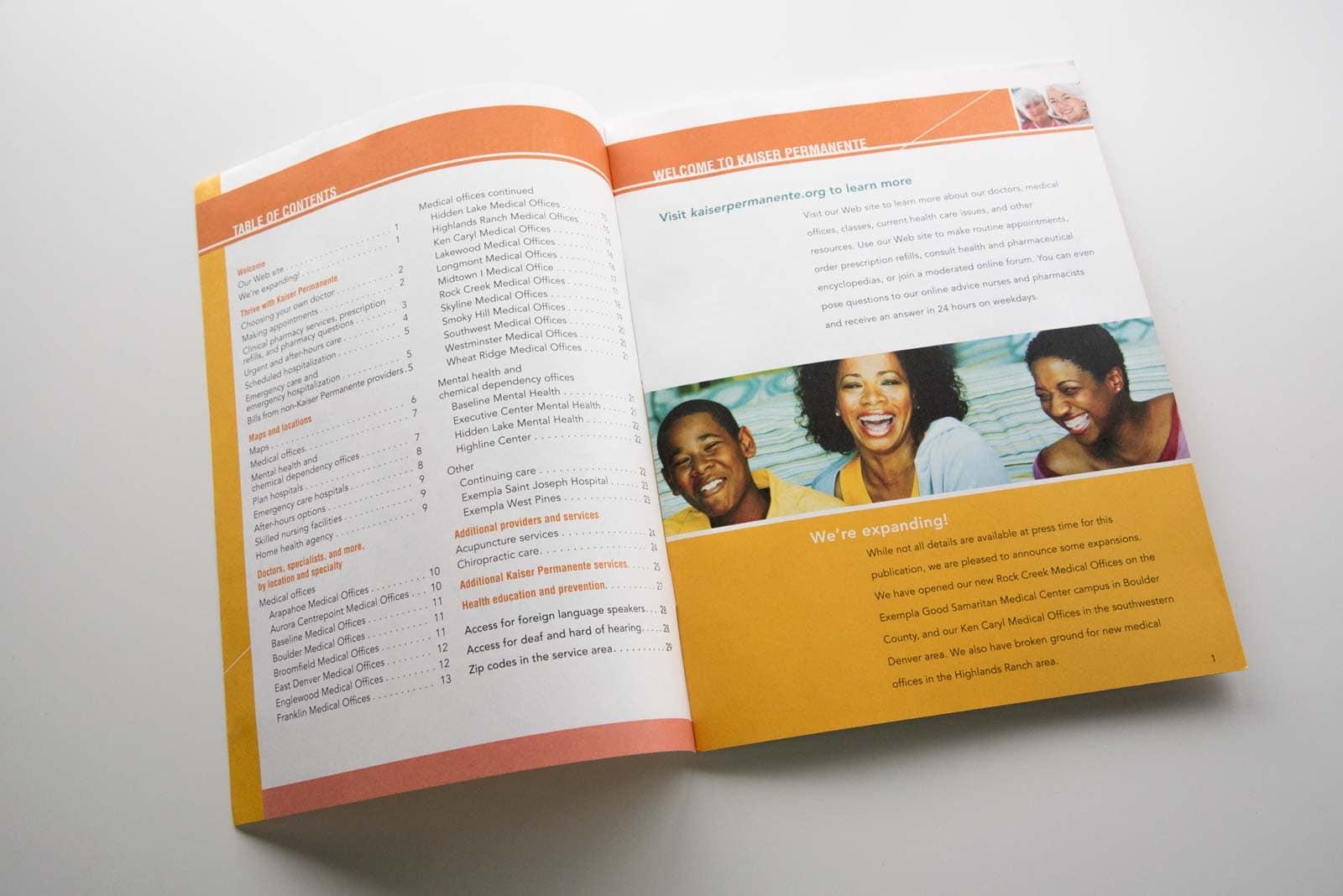 Kaiser Permanente Resource Guide - See Saw Creative Denver