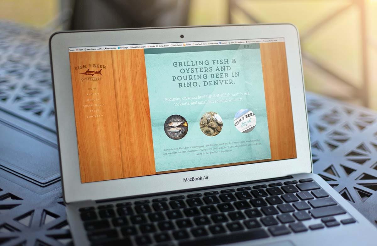 Fish N Beer Denver Website Design